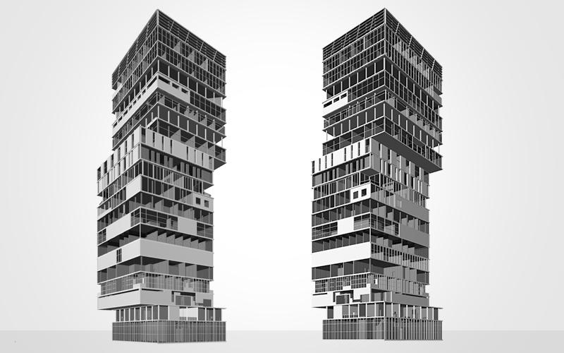 New York Highrise – Bottom-Up